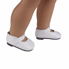 "Doll shoes ,White sport leisure doll shoes for 18"" inch american girl doll for baby gift LH27"