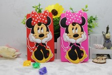 Cheapest 3D Cute Cartoon T Minnie Soft Silicon Cover Back Rubber Phone Case For Nokia Lumia 520 N520