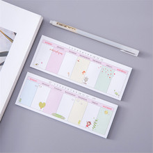 weekly plan kawaii sticky notes memo pad office school supplies stationery desk stickers planner paper post it notes papelaria(China)