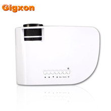 Gigxon - G8005B 2016 hot sell mini projector latest projector mobile phone big 7d cinema projector led for Home Use Eaducation(China)