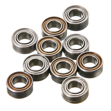 Mayitr Mini Roller Bearings 10 pcs/set Deep groove MR63ZZ Ball Bearings Small Wear Brand New Ball Bearing 3mm*6mm*2.5mm(China)