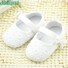 CHAMSGEND Best Seller  Fashion baby shoes beloved Kids Baby Embroidered Shoes Bowknot Toddler Soft Sole Shoes S40