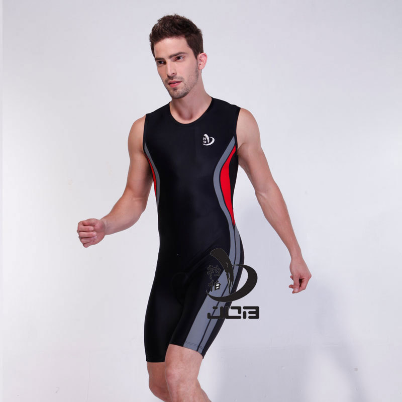 Job Triathlon Ironman Training Cycling one-piece suit for men swimwear riding wear bicycle mens tri suit triathlon suit<br>