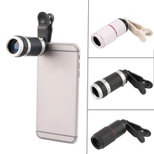 New Universal 8-18x Zoom Optical Mobile Phone Telescope Telephoto Camera Len + Clip Promotion