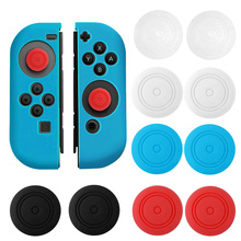 Bevigac 5pairs Soft Silicone Thumb Stick Grip Cap Case Cover for Left Right Nintendo Nintend Switch Joy-Con NS NX Controller(China)
