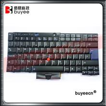 Genuine Black Laptop English Keyboard Big Enter For Lenovo X220 T410 T410I T410S T420I T510 T520 W520 UK Keyboard Replacement(China)