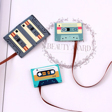 1pcs/lot new style creative disk shape 3D novelty magnetic bookmark stationery office funny book mark label Reading Helper  0913