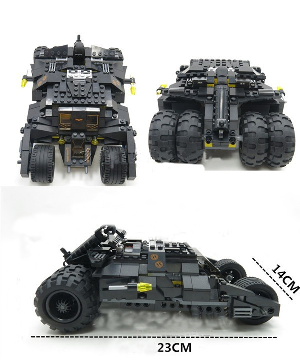 2015 NEW Batman Tumbler Batmobile Batwing Joker Compatible With Super Heroes DC Building Blocks Marvel Set Toy<br><br>Aliexpress