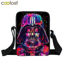Star Wars Mini Messenger Bag Jedi Sith knight Bag Boys Girls School Bags Children Star Wars Daily Crossbody Bags Kids Bookbag