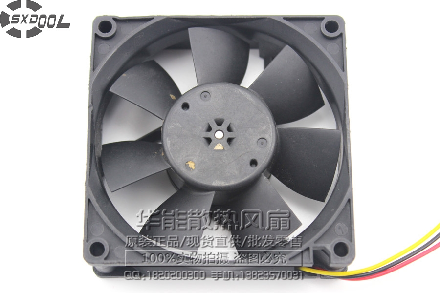SXDOOL MMF-08D24ES RN7 8025 8cm 80mm DC 24V 0.16A server inverter cooling fan<br>