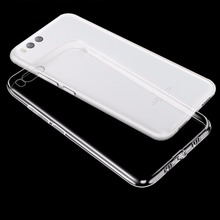 50 Pcs a Lots Phone Case for Xiaomi 6 Mi6 Tempered glass Transparent Clear Soft TPU Silicone Cover Phone Glass for Xiaomi 6(China)