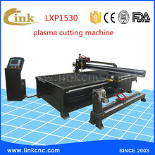 New type stronger iron/ss/carbon steel/metal cutter 1500*3000mm 63A-200A low cost cnc plasma cutting machine(China)