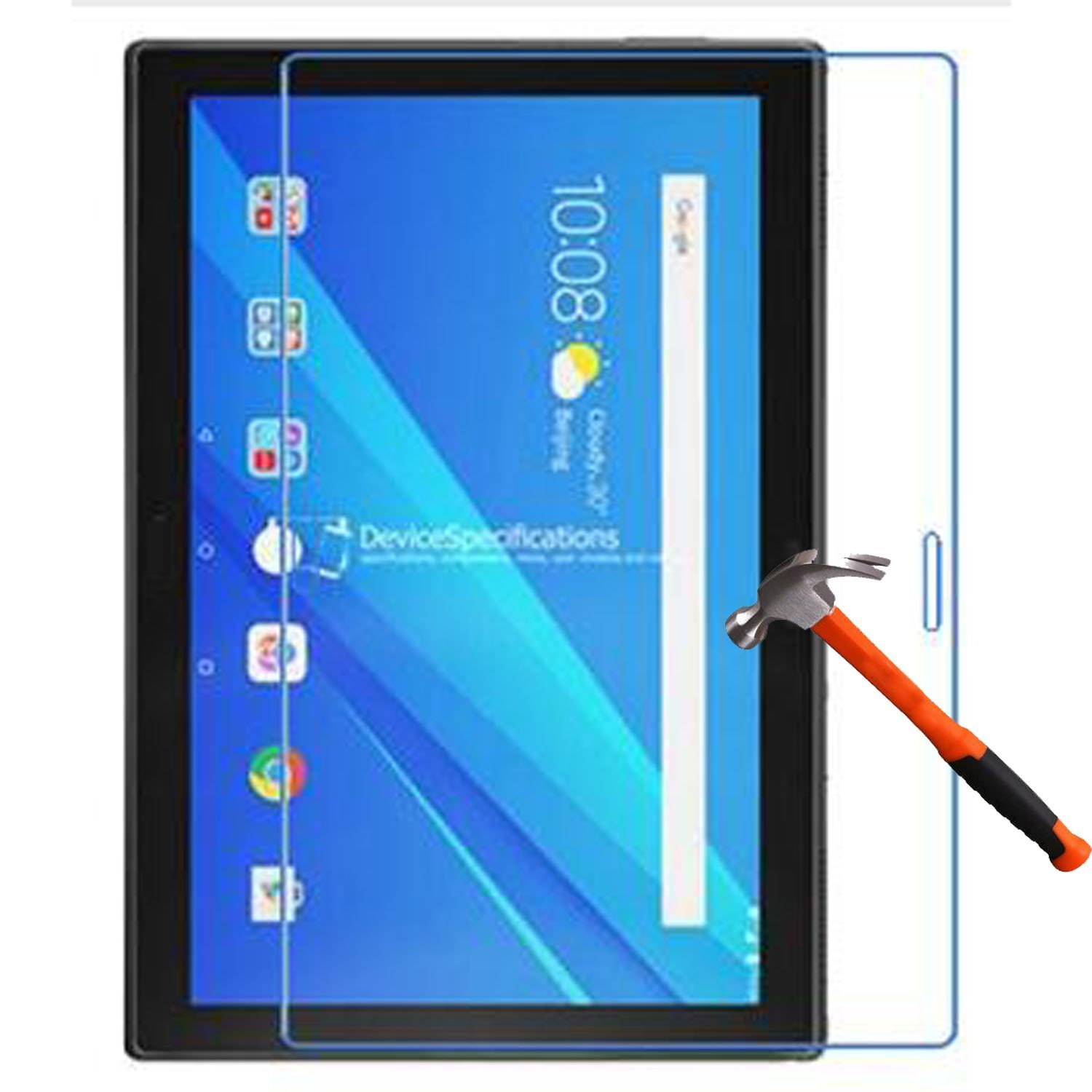 "9H Clear Tempered Glass Lenovo Tab 4 8 10 Plus Screen Protector Lenovo Tab 4 10 8 Plus 8"" inch 10.1"" Tempered Glass"