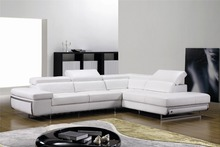 Sofas for living room with corner sofa leather for modern sofa set l shape sofa set designs(China)
