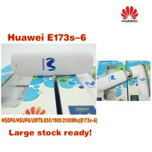 Hot! Huawei E173 WCDMA 3G USB Wireless Modem Dongle Adapter SIM TF Card HSDPA EDGE GPRS(China)