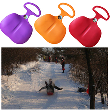 2017 New Winter Outdoor Ski Board Adult Kids Plastic Skiing Boards Grass skiing board Ski Equipment Gift for Children