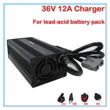 600W 36V 12A lead-acid battery charger 36V scrubber charger sweeper charger wheelchair charger Anderson port DHL Free shipping(China)