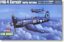 "Hobby Boss 1/48 scale aircraft models 80386 Water F4U-4 ""Pirates"" Carrier Fighter Early *(China)"