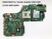 Superior Quality Laptop Motherboard For Toshiba Satellite C850 C855 Motherboard DDR3  HM65  100% Fully Tested