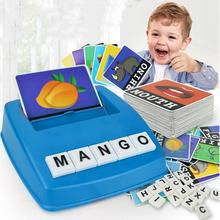 Children Kids Matching Letter Game English Language Word ABC Puzzle Educational Toys For Children(China)