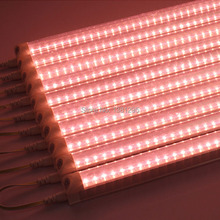 Full Spectrum LED Grow Light Tube led lamps for plants growing lamp hydroponic systems Indoor Greenhouse Flower aquarium led T8(China)