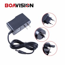 Qualified AC 110-240V To DC 12V 1A CCTV Power Supply Adapter,EU/US/UK/AU Plug ABS Plastic