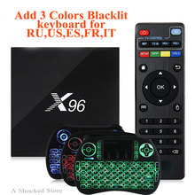 X96 TV Box Max 2GB 16GB ROM Android 6.0 Android Tv Box Amlogic S905X Quad Core WIFI HD 2.0 1080 PK X96mini A95X GOTiT Smart TV