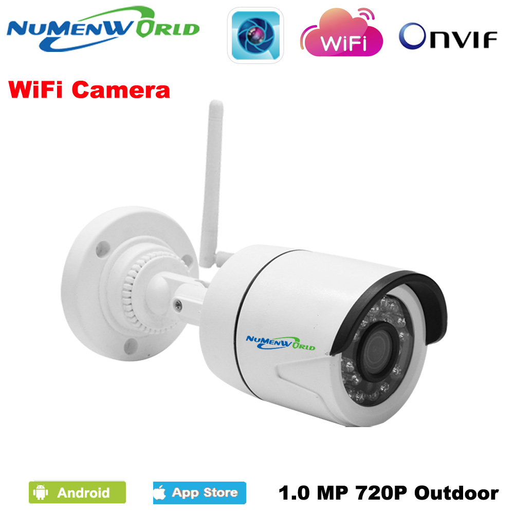 Mini Wifi IP cam 720/960/1080P HD P2P ONVIF 802.11b/g/n wifi network Wired IP Camera IR Outdoor Waterproof Camera IP ABS Plastic<br>