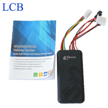 Free shipping GT06 Car GSM GPS Vehicle motorcycle tracker with Geo-Fence Overspeed and ACC ON sos Alarm Fuction GPS Tracker(China)