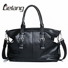 LILANG New Fashion Men Leather Soft Handbags Business Briefcase Men's Top Handle Fashion Daily Carry Tote Shoulder Man Bag