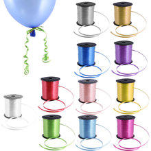 New Hot Sale Party Supplies 225M Multiolour Balloon Curling Ribbon Wedding Birthday Gift Baby Shower Party Favor Home Decoration