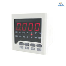D6-4O panel size 72 *72 low price and high quality ac single phase led digital energy meter, for industrial usage