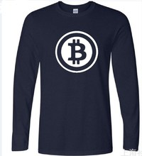 Buy Two Step New Bitcoin Cryptograrhy Trust T Shirt Men Casual Dress Brand Clothing Print Bitcoin Long Sleeve for $9.18 in AliExpress store