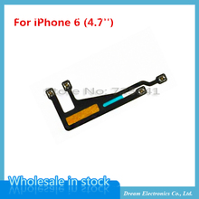 MXHOBIC 50pcs/lot WiFi Antenna Flex Cable For iPhone 6 6G 4.7 WiFi Signal Flex Cable Ribbon Replacement Parts Wholesale(China)