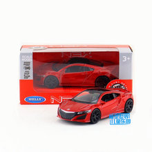 Free Shipping/WELLY Toy/Diecast Model/1:36 Scale/Japan Honda 2015 Acura Super/Pull Back Car/Educational Collection/Gift/Children(China)