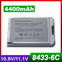 6CELLS 10.8V Laptop Battery FOR APPLE IBOOK G3 12 A1008 A1061 M8403 M8433 M8433G/B M8626G/A M8956 M9008 M9184 M9337(China)