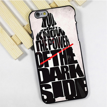 Fit for iPhone 4 4s 5 5s 5c se 6 6s 7 plus ipod touch 4 5 6 back skins phone case cover Darth Vader The Dark Side Star Wars