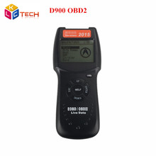 Newest Arrive D900 Canscan  D900 Scanner Universal OBD2 EOBD Car Fault Code Reader D 900 Diagnostic Tool 2015 Version