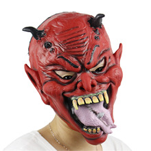 New Halloween Mask Horror Hell Masks High Quality Latex Party Scary Monster Masks For Festival Party Cosplay(China)