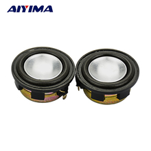 AIYIMA 2Pcs 1Inch Audio Portable Speakers 8Ohm 2W Full Range Speaker Louderspeakers sound production Bluetooth Crystal(China)