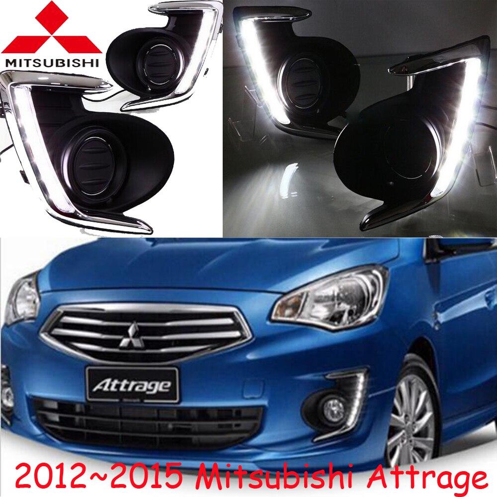 LED headlight Kit,2012~2015 year,LED Daytime Running Light for Attrage fog lamp shell frame accessories,Attrage daytime light<br>