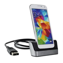 BrankBass High quality Desktop Sync Dock Station Cradle Battery Charger For Samsung Galaxy S5 SV i9600