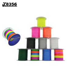K8356 100M/109Yards 4 Stands PE Line Braided Fishing Line 100% PE Multifilament Fishing Line Super Strong High Quality 8LB-150LB