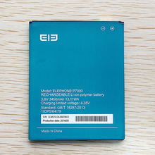 New 100% Original Battery ELEPHONE P7000 3450mAh For elephone P 7000 Mobile Phone Accumulator In Stock tracking number