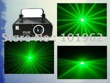 50 mW Green Sound Activated Dj Disco Light With Stage Lighting Fixtures Sale