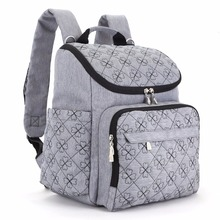 Diaper Bag Fashion Mummy Maternity Nappy Bag Brand Baby Travel Backpack Diaper Organizer Nursing Bag For Baby Stroller(China)