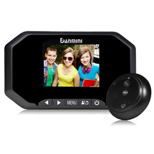 "3.0"" LCD Color Screen Doorbell Viewer Digital Door Peephole Viewer Camera Door Eye Video record 160 Degrees Night vision DAMINI"