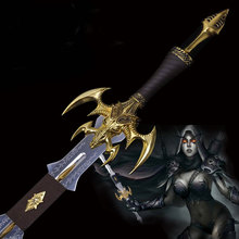 World Of Lich King Arthas FrostMourne Sword Weapon Replica 1:1 Stainless Steel Made Collector's cosplay props