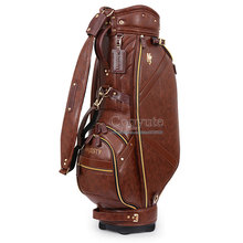 New Cooyute Clubs Golf Bags High quality PU Sport Bags in choice 10. inch MAJESTY Golf Cart bag Free shipping(China)