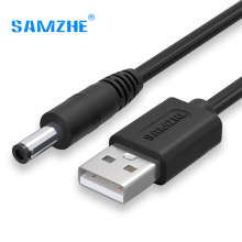 SAMZHE USB to DC Cable 5V 3A Charging&Data Cable 3.5mm/5.5mm for Music Player Old Version Phones Lights Computer Accessories(China)
